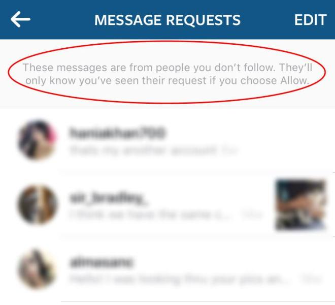 how to delete a comment on instagram direct message