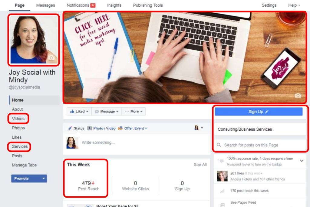 How to Navigate the New Facebook Pages Layout (2016)