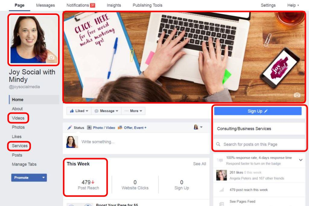How to Navigate the New Facebook Pages Layout (2016) - Joy Social
