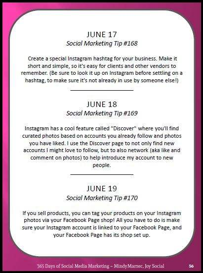 365 Days of Social Media Marketing